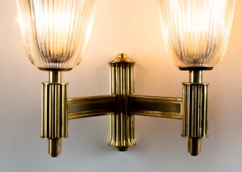 Pair of Two-Arm Sconces