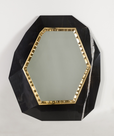 Lucy Contemporary Hanging Wall Mirror