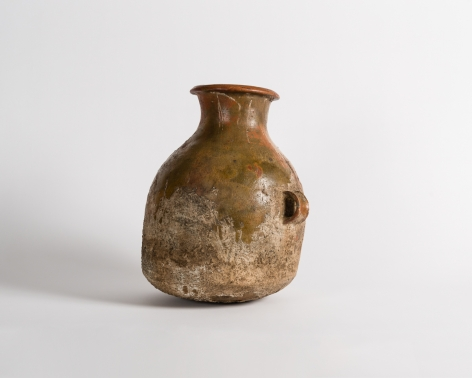Ancient Vessel with Dual Handles