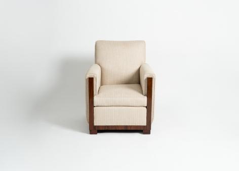 Art Deco Modernist Club Chair