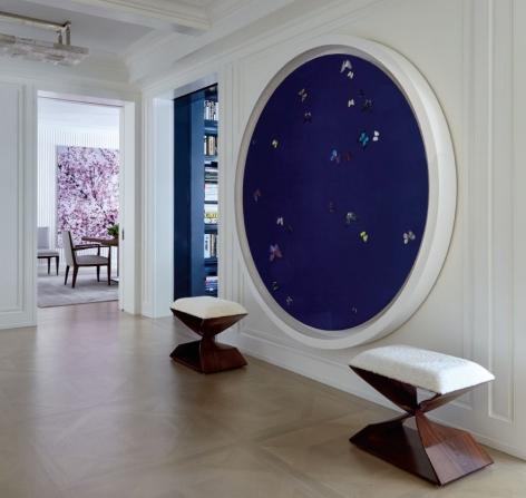An interior by Erica Millar.