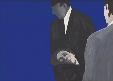 Rosalyn Drexler, Steven Ward, 1963