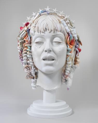 Self-Portrait as St. Teresa, 2012, Mixed media