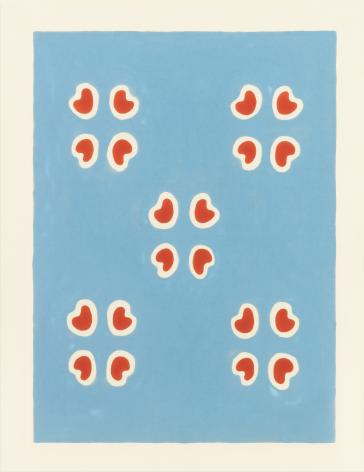 Alioth, 1964, Oil-based enamel on canvas