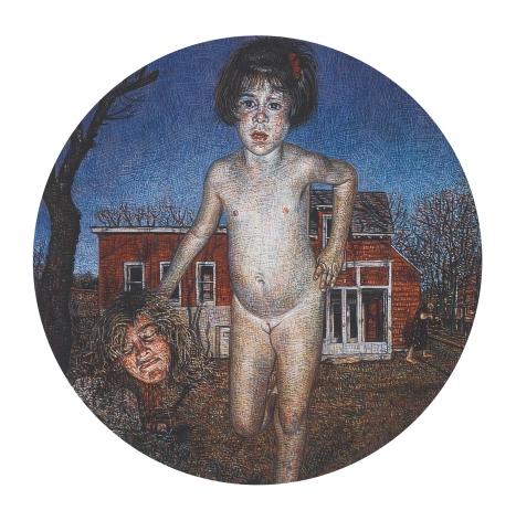 Mark Greenwold, Circle #3 (Anya), 1994