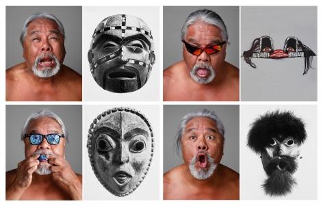 We Become Them, 2011, Chromogenic print
