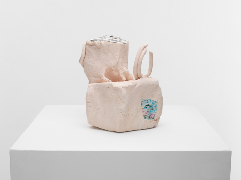 Kopf, 2012, Glazed ceramic