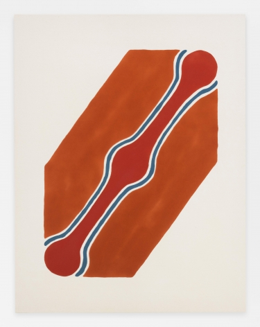 Paul Feeley, Untitled (March 1), 1963