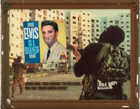 Image War, 2003, Mixed media