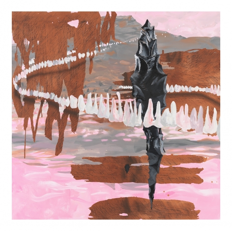 Abiquiu Lake, 2020, Oil on canvas