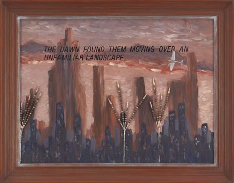 Lost Horizon, 1982, Mixed media