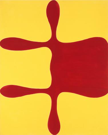 Homer, 1962, Oil-based enamel on canvas