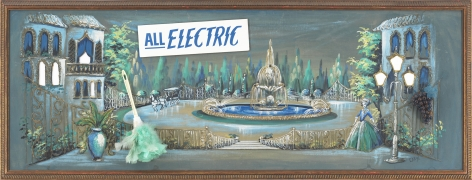 All Electric, 2016, Mixed media