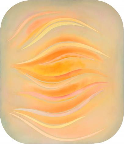 Bloom for Tony Smith, 1971, Acrylic on canvas
