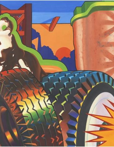 Art Green, Magnetic Reaction, 1968