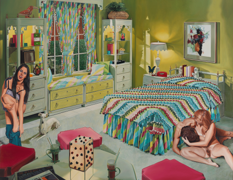 Bright Promise (for Simon), 1971–1975, Oil on canvas