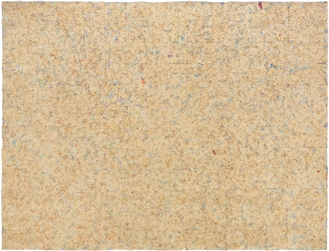Howardena Pindell, Untitled #20 (Dutch Wives Circled and Squared), 1978