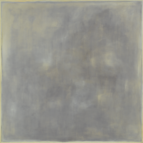 Grey Painting, 1963, Oil on canvas