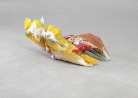 Bennington V, 1970, Polyester resin, milled glass, plaster, glitter, and dry pigment