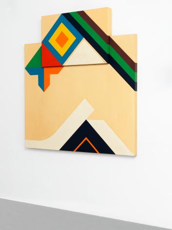 Diamond Head, 1964, Acrylic on canvas