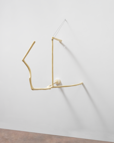 Debt, 2013, Epoxy, steel, and wire