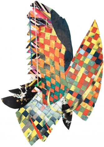 Untitled, 1983, Paper collage
