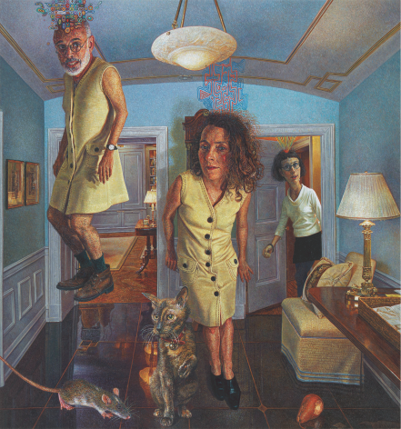 The Need to Understand, 2002–2003, Oil on board