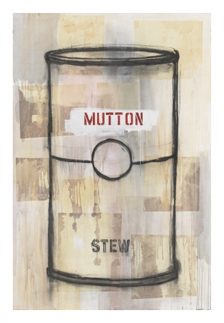 Jaune Quick-to-See Smith, I See Red: Mutton Stew, 1995