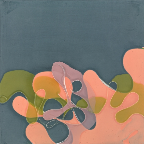 One of These Days, 2011, Acrylic and polyurethane on panel