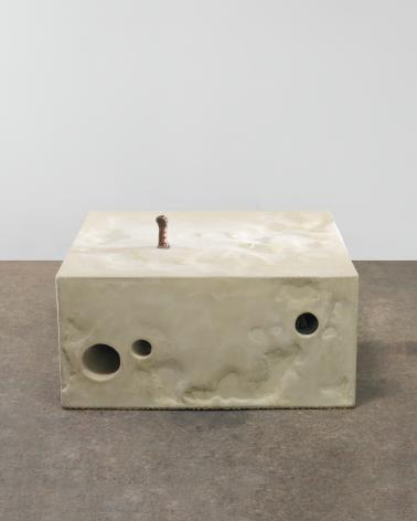 Position, 2013, Plastic, epoxy, and copper