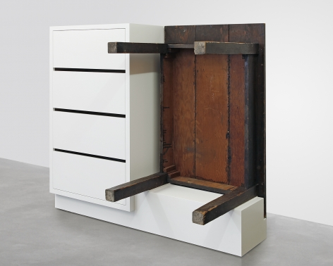 Roy McMakin, Chest of Drawers with Table, 2016
