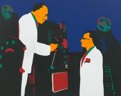 Rosalyn Drexler The Lesson (Men and Machines), 1962