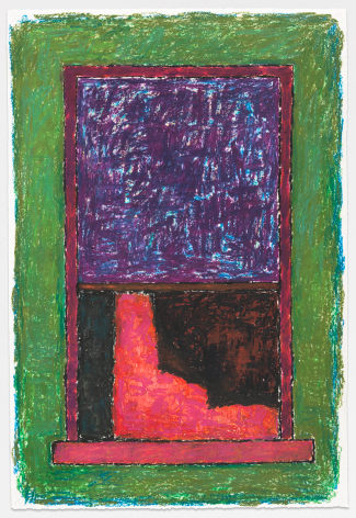 Untitled, 1984, Pastel on paper