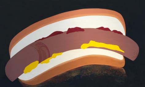 Haida Hotdog, 1984, Acrylic on canvas