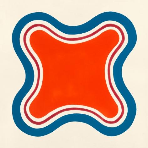 Petono, 1962, Oil-based enamel on canvas