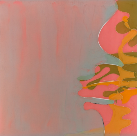Talking With the Sun, 2011, Acrylic and polyurethane on panel