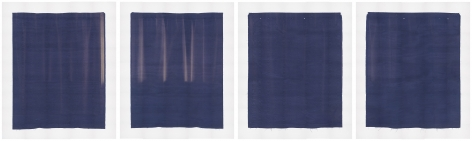Photographs of Both Sides of 2 Pieces of Fabric I've Had For a Long Time, 2008, Digital pigment prints