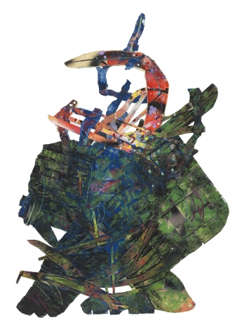 Untitled, 1985 Mixed media on paper collage