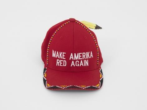 Make Amerika Red Again, 2018, Mixed media