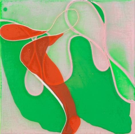 Save Your Breath, 2010, Acrylic and polyurethane on panel