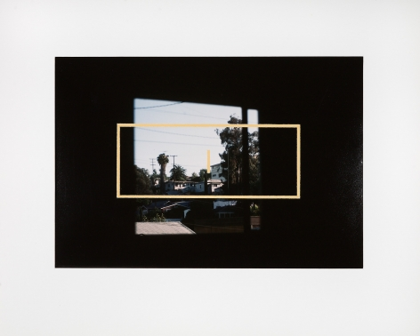 Untitled, 1985–1986, Acrylic on chromogenic print