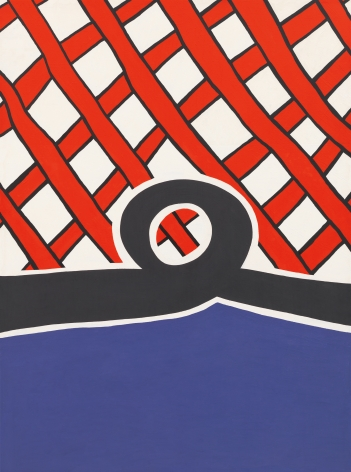 Untitled, 1962 Acrylic on canvas