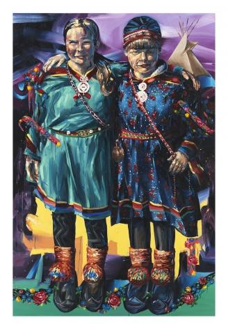 Sami Solidarity (Standing Rock), 2017