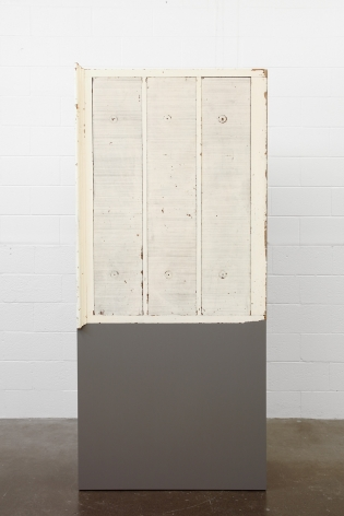 Untitled (with Drawers), 2011, Enamel on eastern maple, found chest