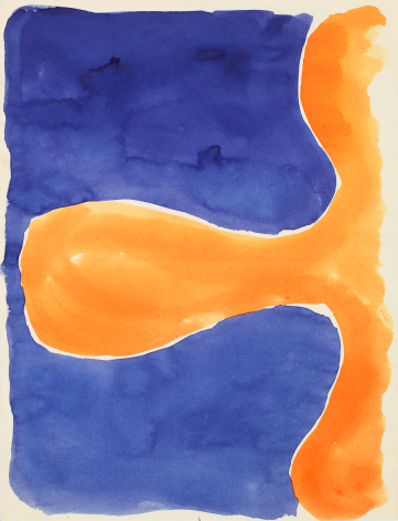 Paul Feeley Untitled, 1958