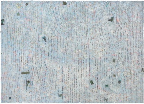Howardena Pindell, Memory: Future, 1980–1981