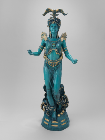 American Athena, 1989, Patinated and gilded bronze