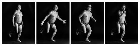 James Luna, Petroglyphs in Motion, 2002
