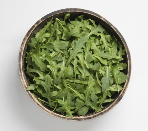 Wild Arugula in a bowl