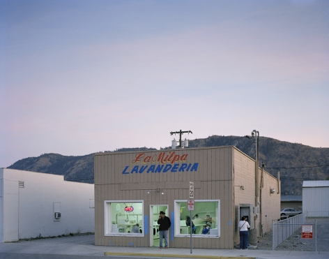 Kathya Maria Landeros  Main Street Laundromat, Eastern Washington, 2012  From the series West  Archival Pigment Print​